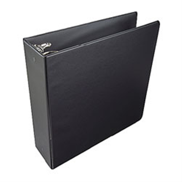 "2"" O-Ring Binder Black #90330"