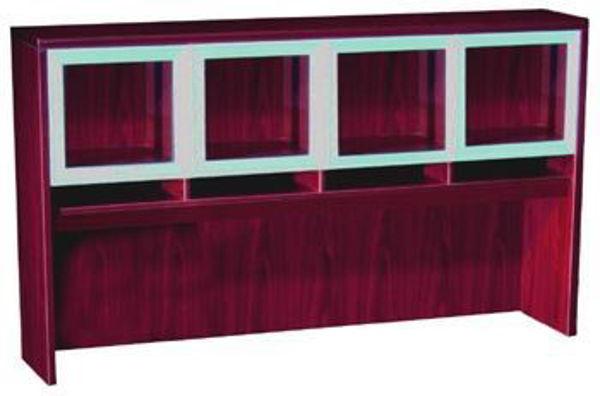 Hitop 71 x 15 x 36 Hutch w/Glass Doors