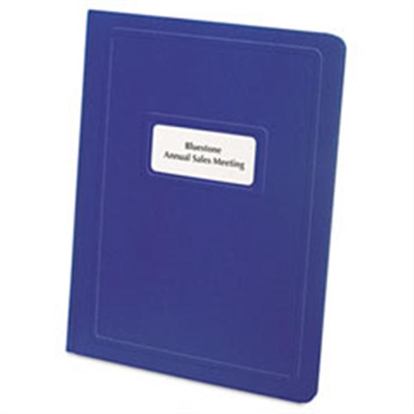 Sparco Plastic Front Folder - White #71453