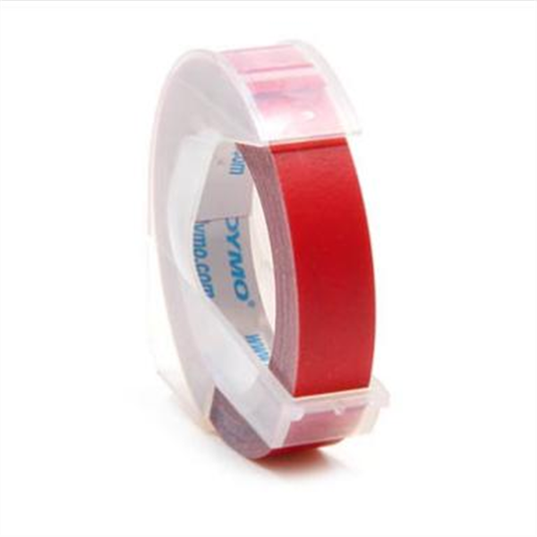 """3/8"""" Dymo Tape Red #5201-02"""