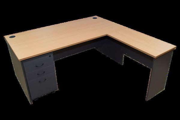 Hitop 1800 x 1800 Executive Desk Unit - BE/DG