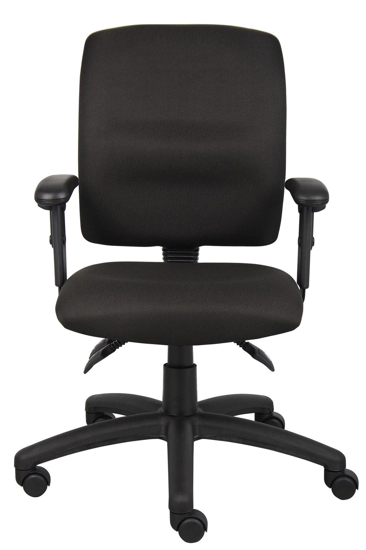 Boss 3 Paddle Task Chair w/Arms Black