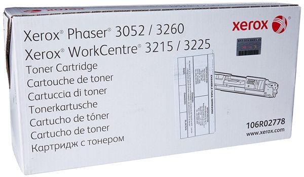 Xerox 106R02778 Toner Cartridge - Black (3225)