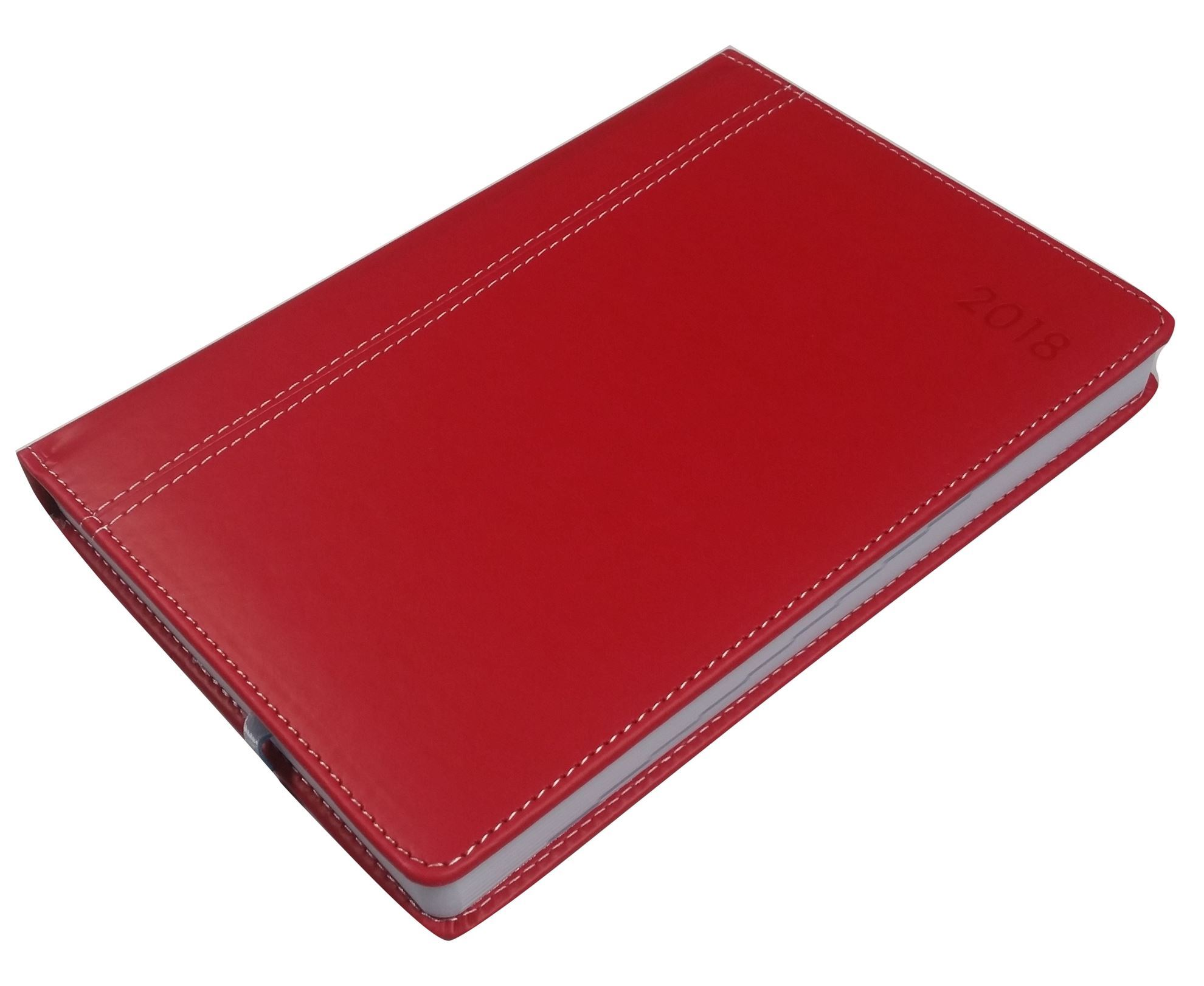 SOS Exec. Appointment Suede Diary (Red) 1-DAY