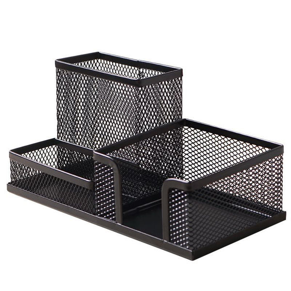 Mesh Desk Caddy - Black