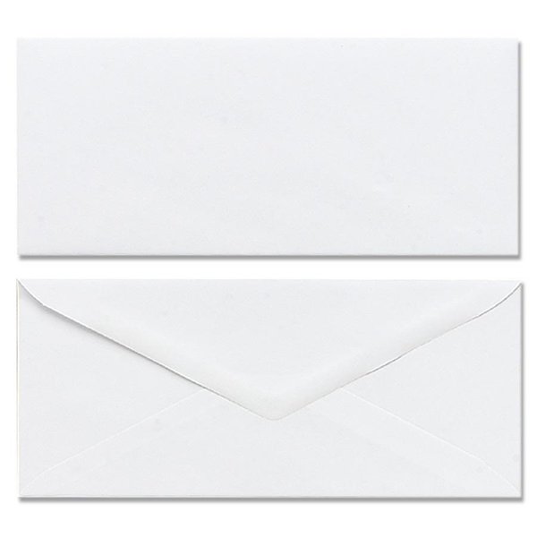 Marander #10 White Plain Envelopes 90 gm
