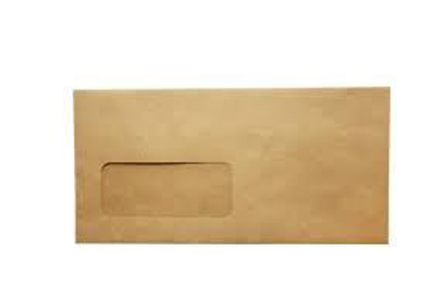 Marander #8 Manilla Window Envelopes 70grm
