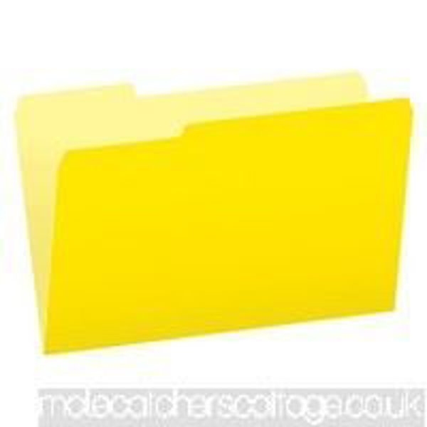 Pendaflex F/S File Folder  - Yellow #15313