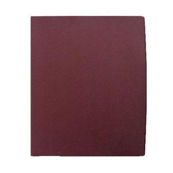 Press Kit Folder Classic Laid Purple