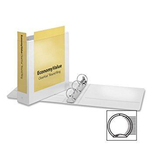 "2"" VU O-Ring Binder White #90081"