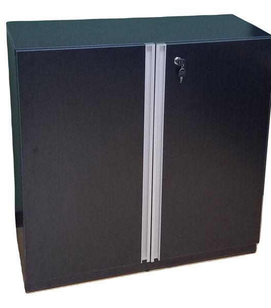 Premier 2-S Cupboard 900Wx400Dx900H - Black
