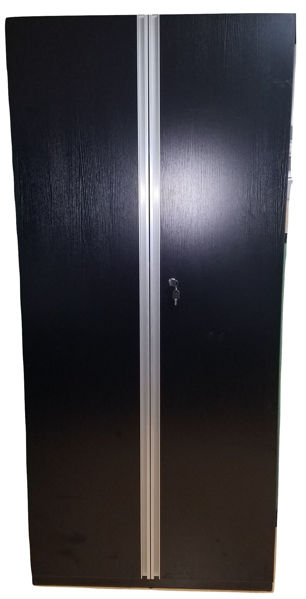 Premier 5-S Cupboard 900Wx400Dx2000H - Black