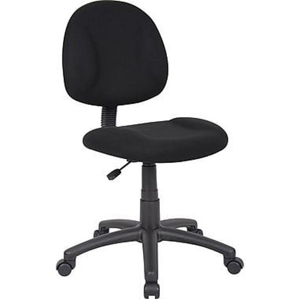 Boss Task Chair w/o Arms Black