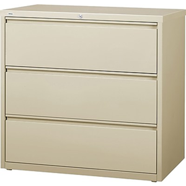 Image 3-Drawer Lateral Cabinet (Putty)