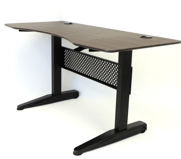 Boss 48X26.5 Gas Lift Desk - Mocha