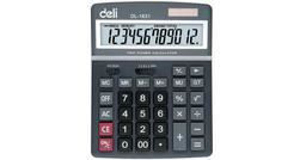 Deli #1671 12-Digits Calculator