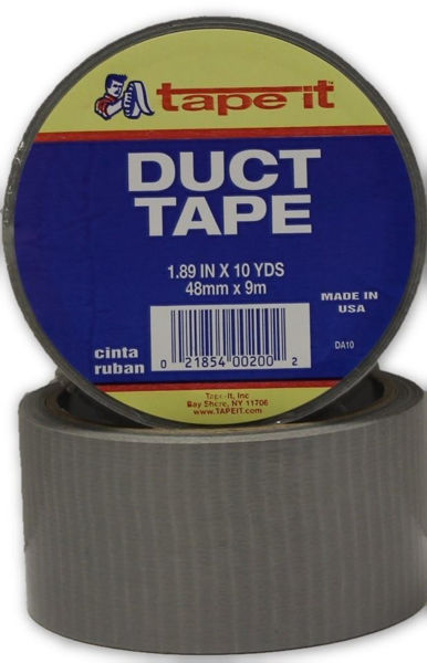 """2"""" x 10yd Silver Duct Tape #D10"""