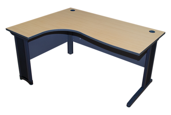Torch 1600x1200 L-Type Desk - Beechwood