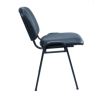 Image BIFA Side Chair w/o Arms - Black Vinyl