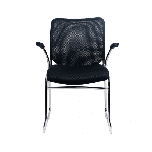 Image Half Arm Side Chair - Black
