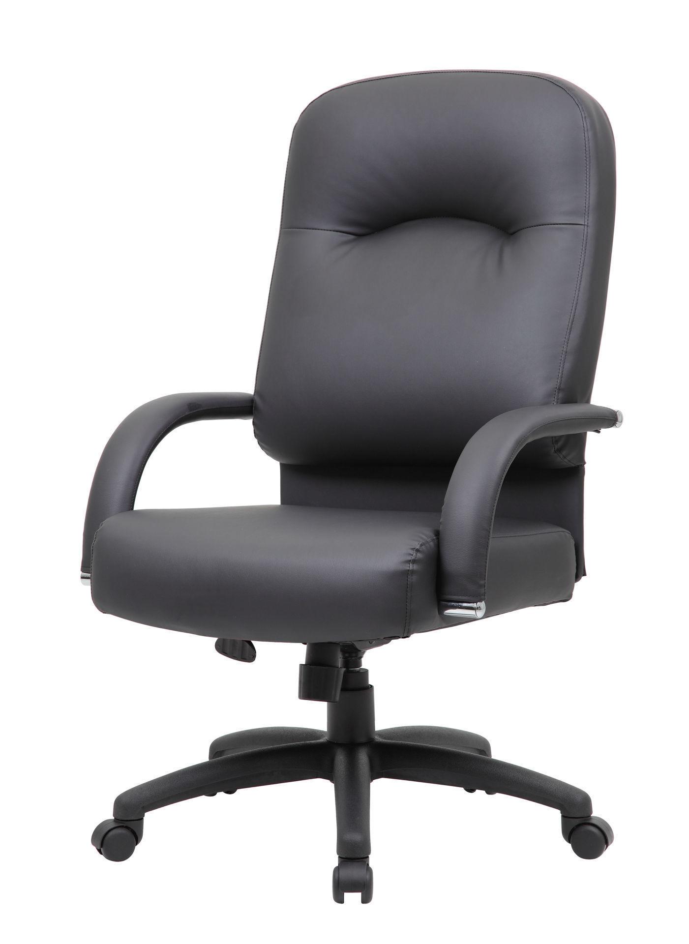 Boss Caresoft High Back  Exec. Chair Black