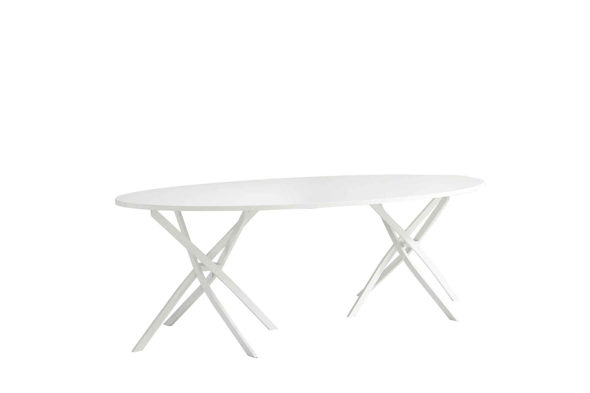 Torch 2400x1200 Conference Table - White