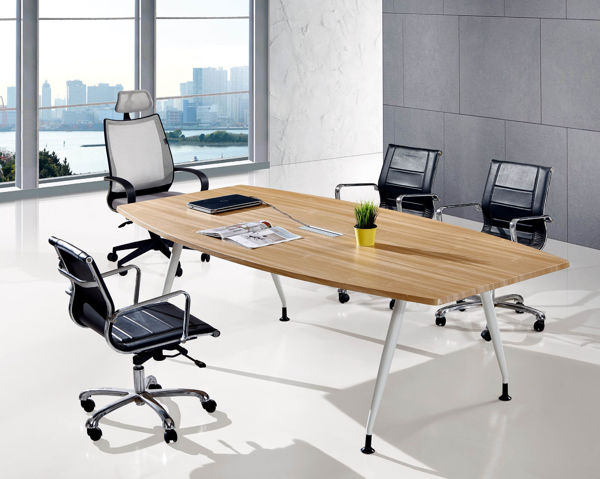 Torch 2400x1200 Conference Table - Birch