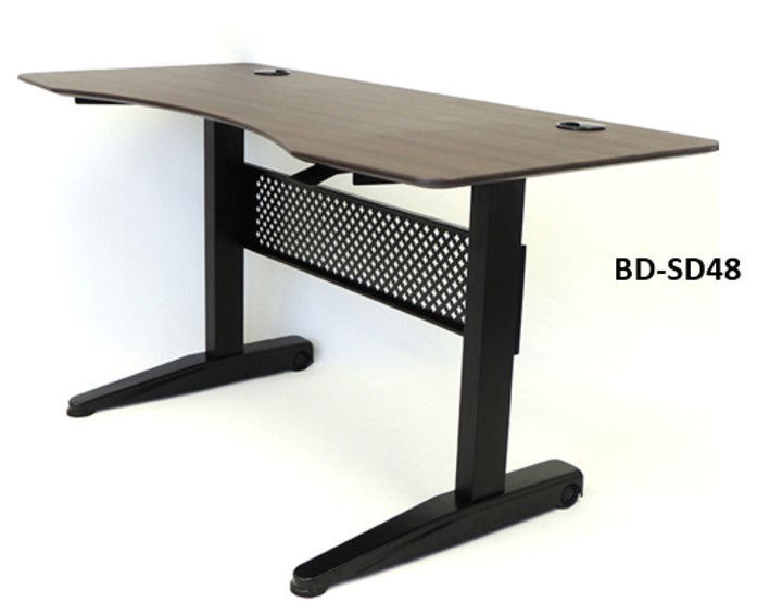 Boss 47 x 26.5 Gas Lift Desk - Moca