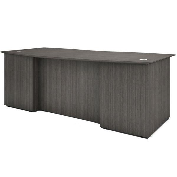 Boss 71 x 41 Standard Desk - Driftwood
