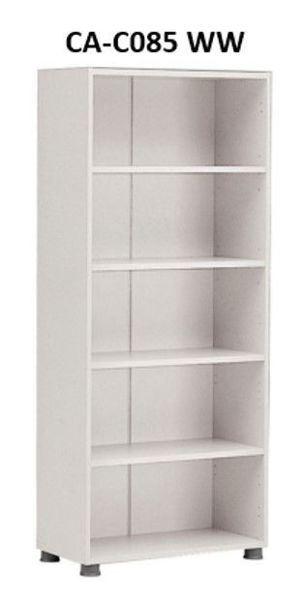 Picture of CA-C085 WW Supertech 5-Shelf (800) Open Cabinet - WW