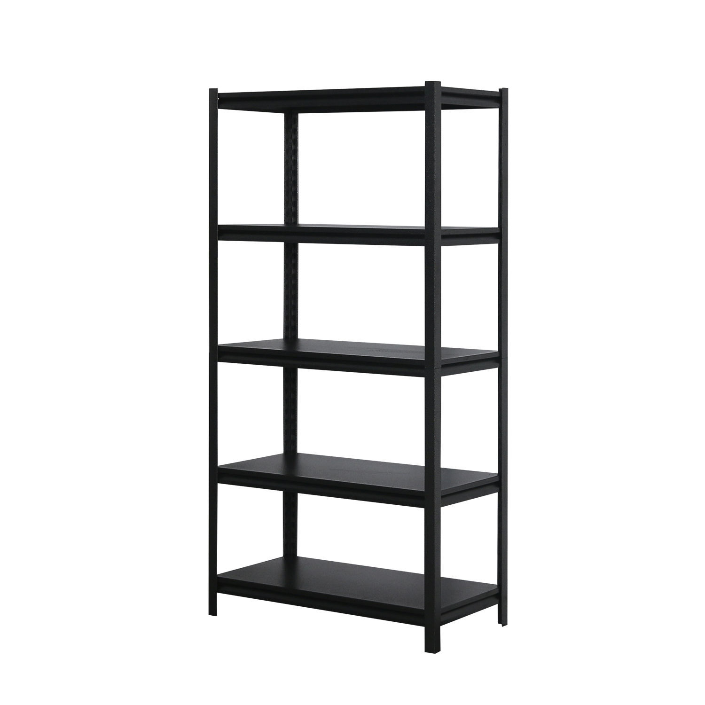 Image 72 x 36 (5-Shelves) Shelving Unit - Black