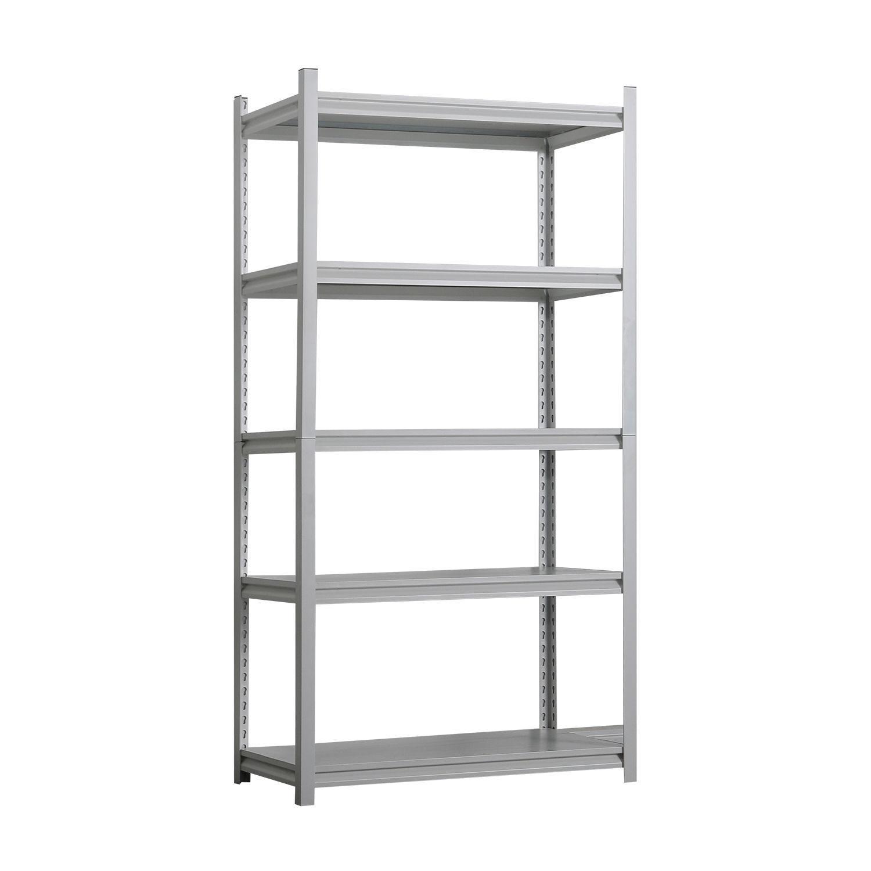 Image 72 x 36 (5-Shelves) Shelving Unit - White