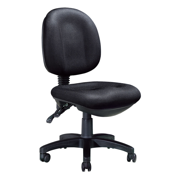 Image 2 Paddle Task Chair w/o Arms - Black