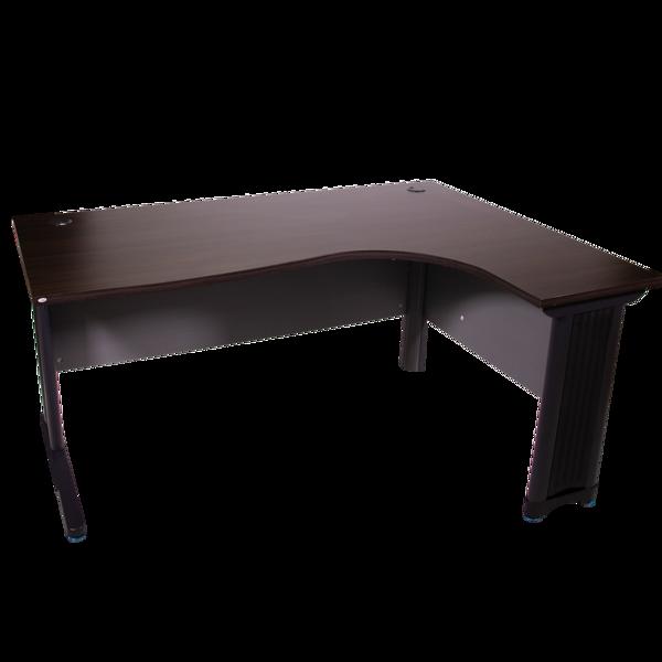 Picture of ST-D362R BW Torch 1600x1200 L-Type Desk - Black Walnut