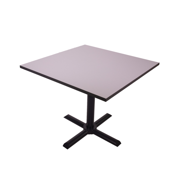 Torch 900x900 Table - Lt. Grey