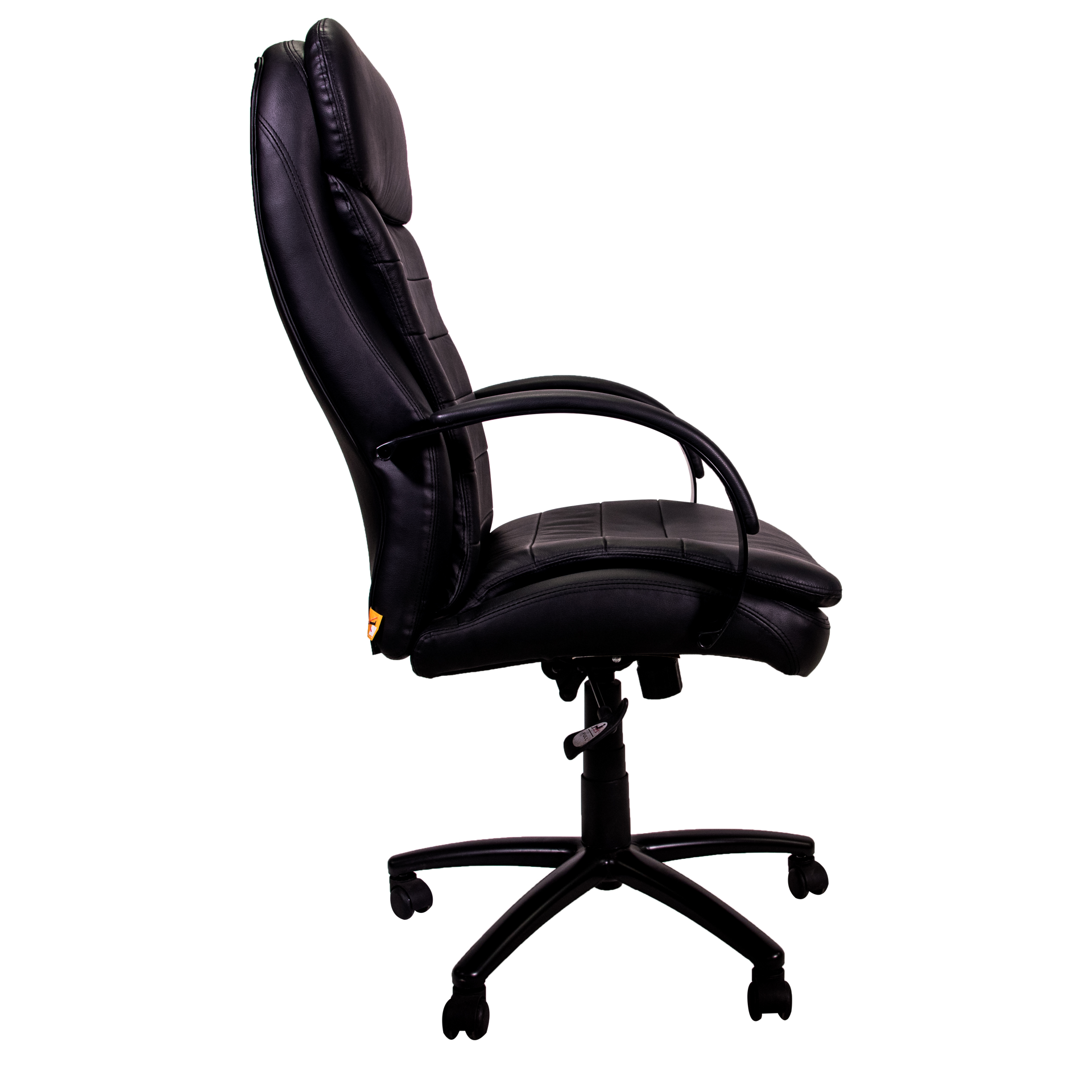 Boss Habanera Leather High Back Exec. Chair - Bk