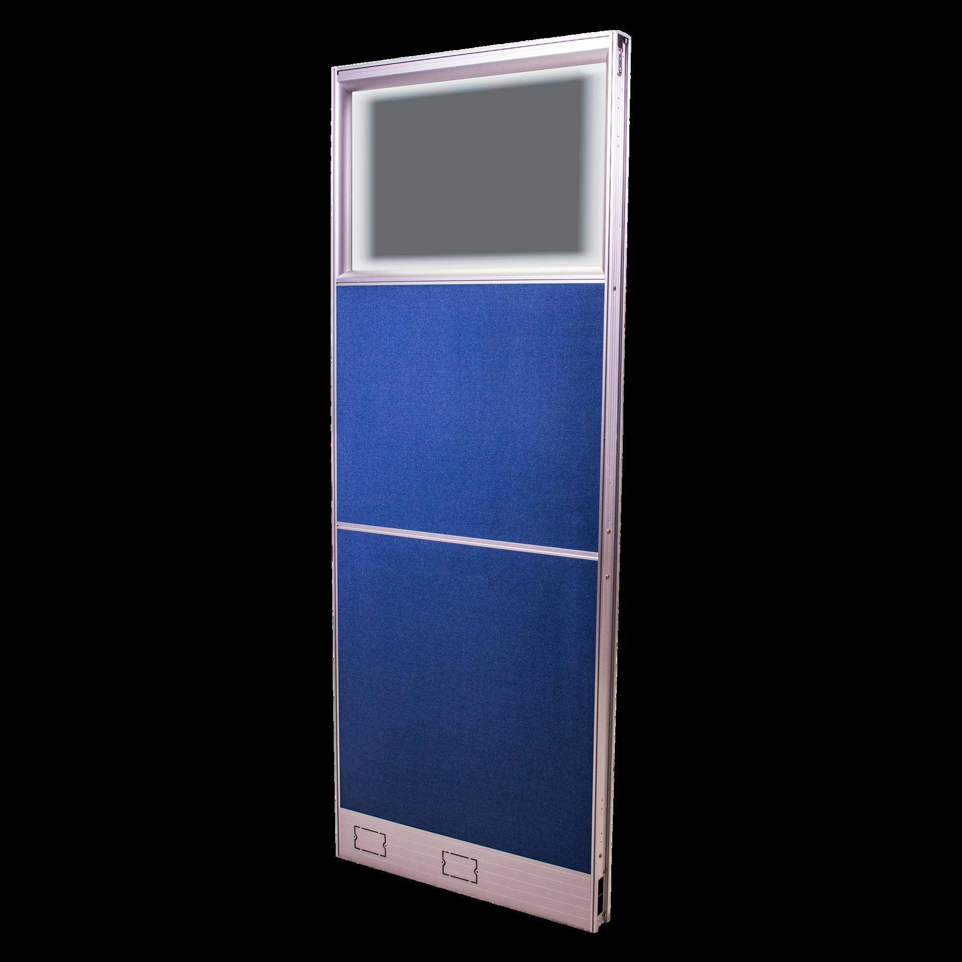Picture of AZ-P4066 Image 600 x 1600 Panel w/Glass - Blue