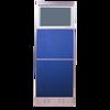 Picture of AZ-P4166 Image 1600 x 1600 Panel w/Glass - Blue