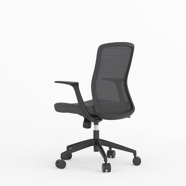 Picture of AA--5313BK Anji (Kenvo) Medium Back Chair - Black