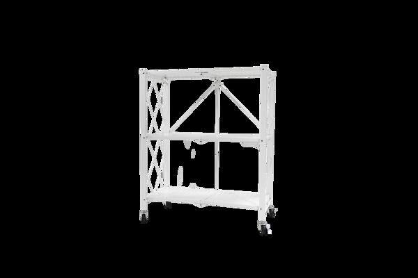 Picture of AZ-RYX53W Image 760H x 720W Foldable 3-Shelf Rack - White