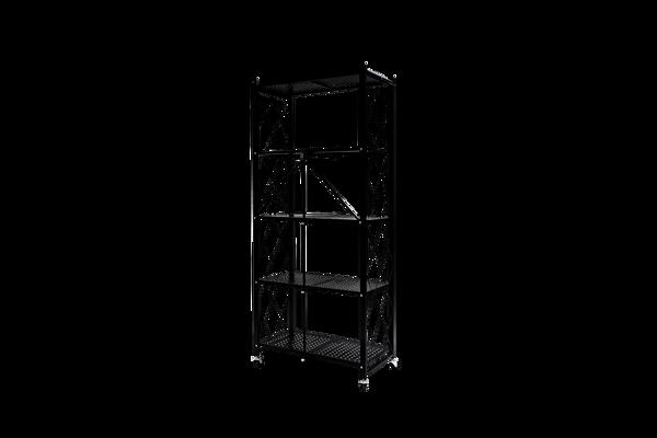 Picture of AZ-RYX55B Image 1620H x 720W Foldable 5-Shelf Rack - Black