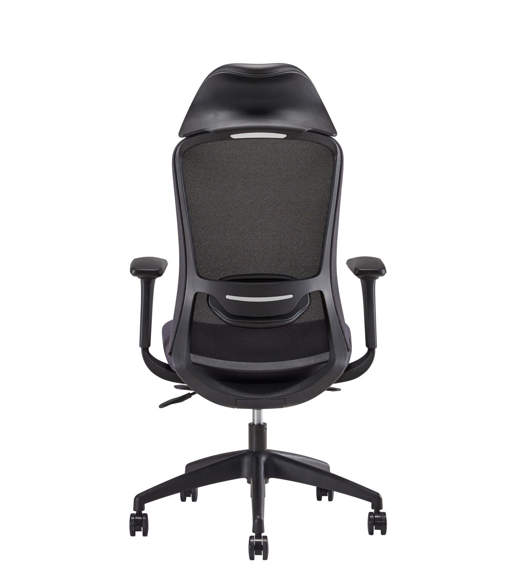 Picture of AA-5315BK Anji (Vogue) High Back Chair w/Headrest - Black