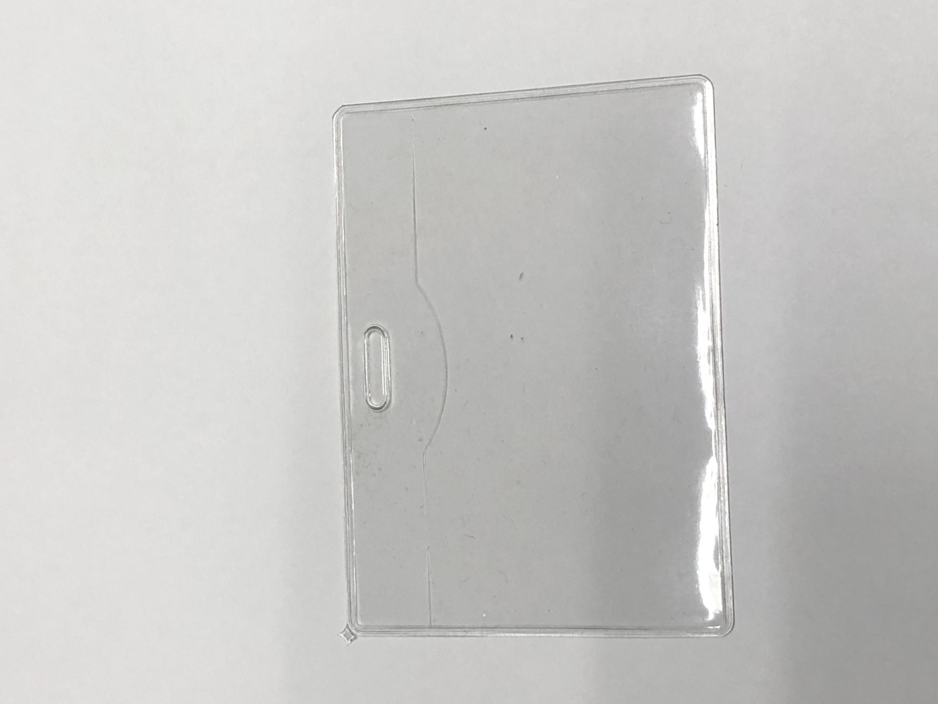 Picture of 02-004 CF 3 7/8 x 2 3/4 ID Card Holder (Horizontal)