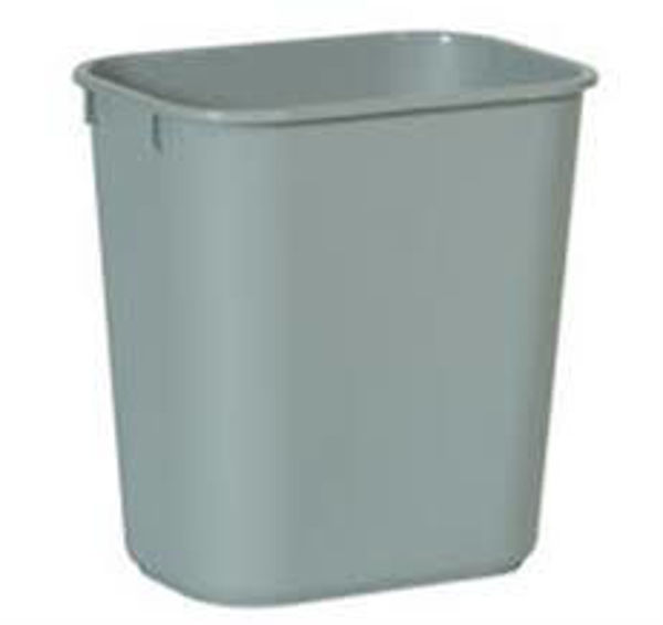Picture of 05-021 Rubbermaid Waste Paper Bin Grey (Large) 28QT