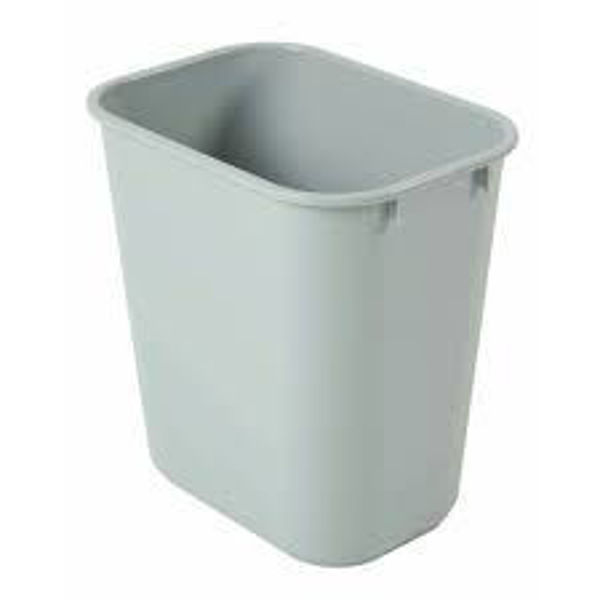 Picture of 05-025 Rubbermaid waste Paper Bin Grey (Small) 13QT