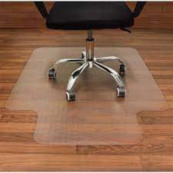 Picture of 16-001 45x53 Plastic Chair Mat w/o Grip #TEN 13210620/131803