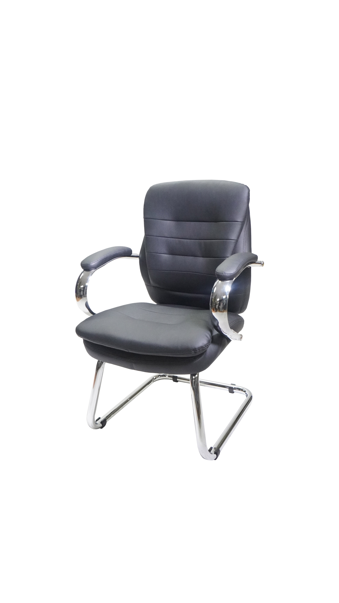 Picture of AA-5334BK Image Double Plush Side Chair - Black
