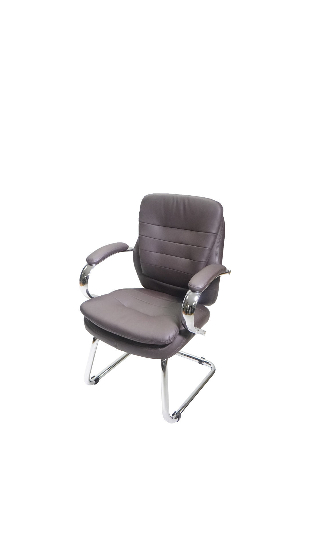 Picture of AA-5334BR Image Double Plush Side Chair - Brown