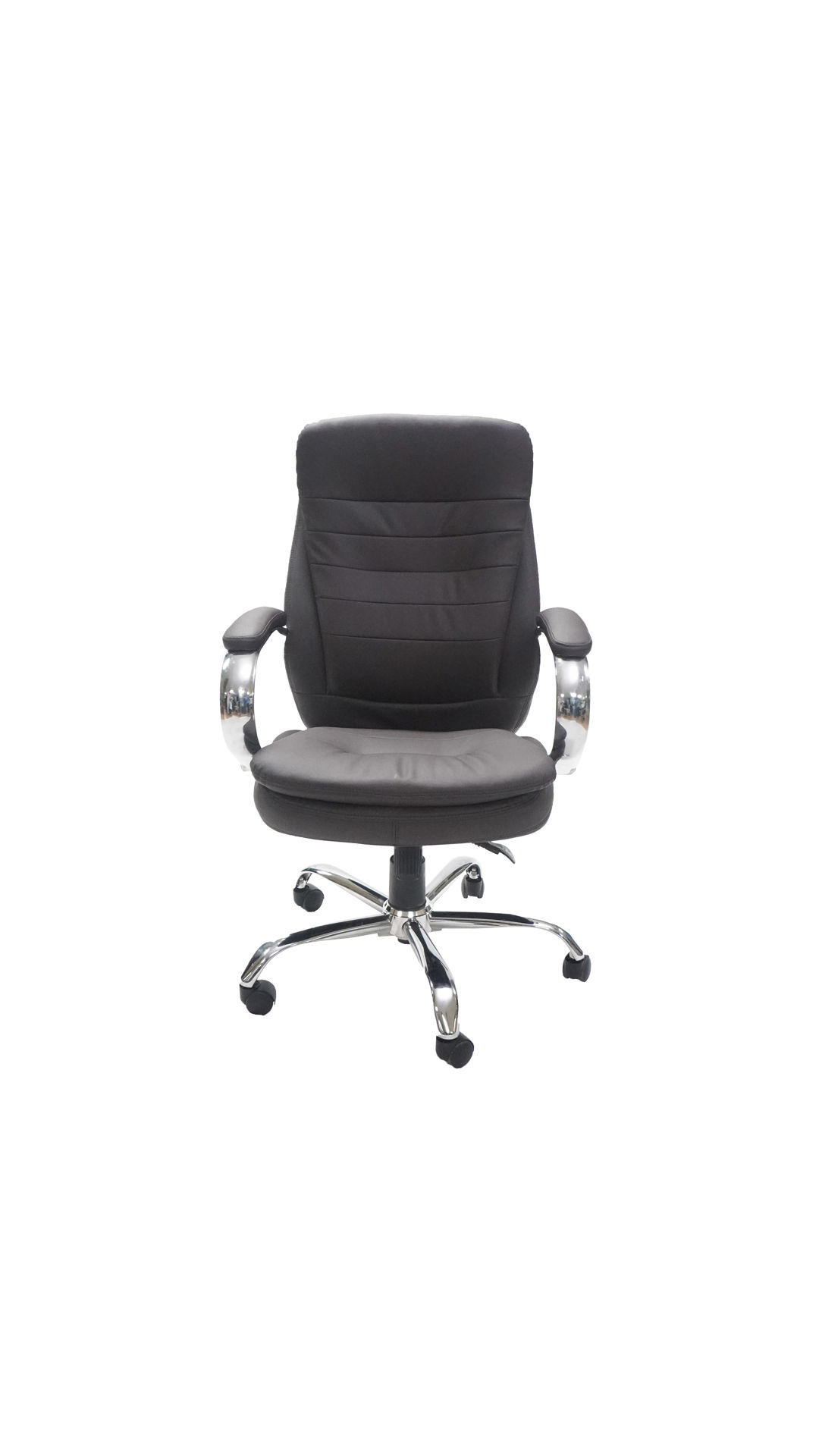 Picture of AA-5330BR Image Double Plush High Back Exec. Vinyl Chair - Brown