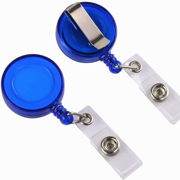 Picture of 02-010 Retractable Reel w/Clip for ID Card Holder